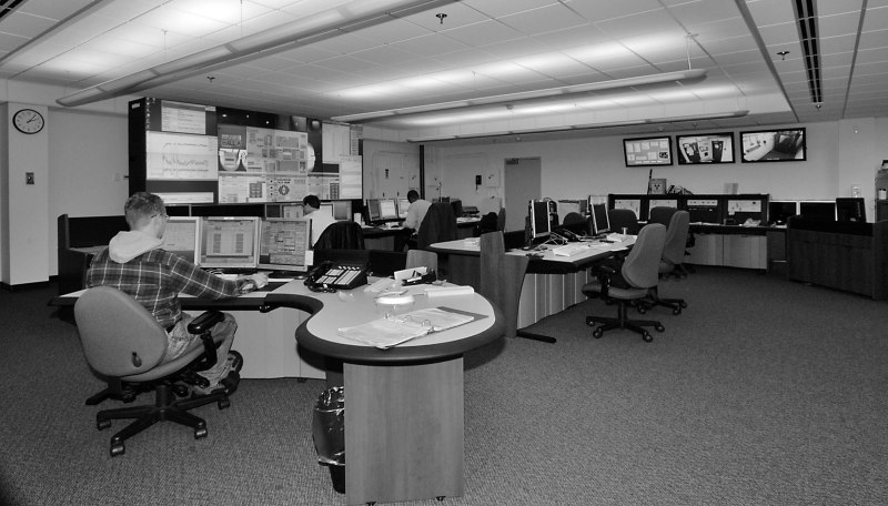 high -tech lab