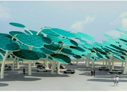 Solar Panel Forest 2