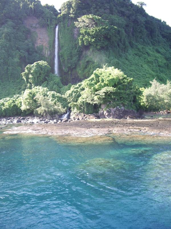 Waterfall West Vanua Lava